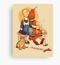 Rockwell Time Canvas Print