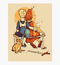 Rockwell Time Photographic Print