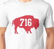 716 : Red Unisex T-Shirt