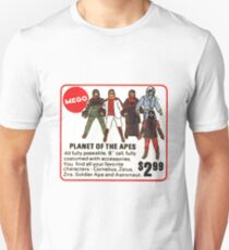 Mego Planet of the Apes Action Figures Unisex T-Shirt