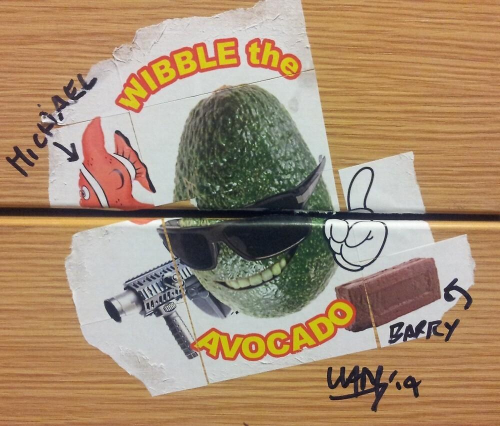 Wibble the Avocado by corinotec