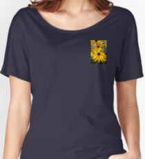 Black Eyed Susan Flower  Women's Relaxed Fit T-Shirt
