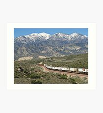 The Beauty Of Cajon Pass Art Print