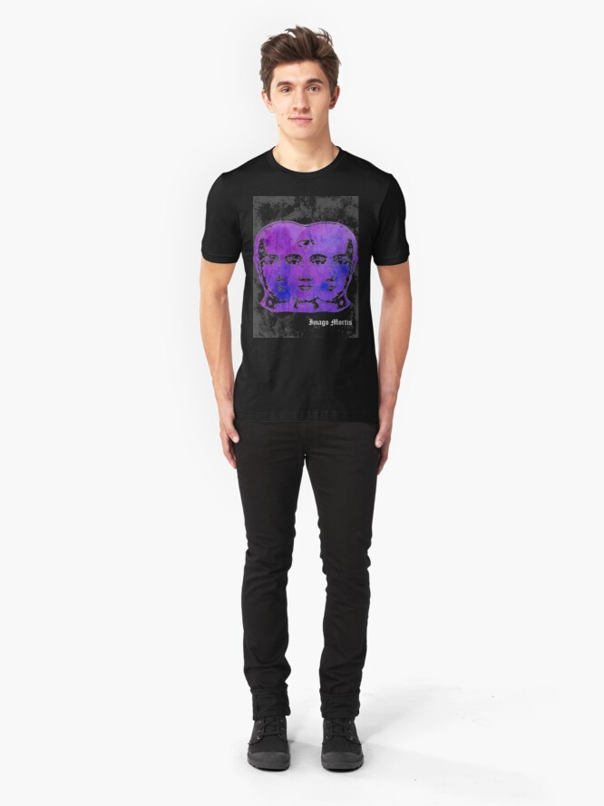Alternate view of Tricephalous (Feed Your Head) Slim Fit T-Shirt