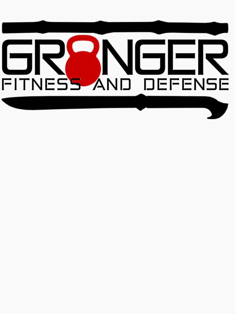 Red Full Logo for Granger Fitness and Defense  by johngranger