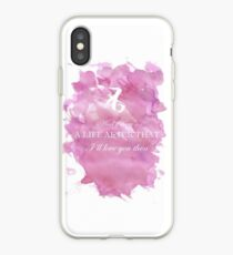 I'll love you then iPhone Case