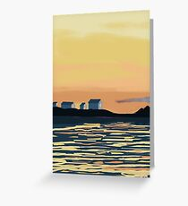 ALLEN AND BENNER DAYS END Greeting Card