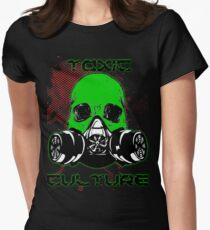 Toxic Culture Women's Fitted T-Shirt