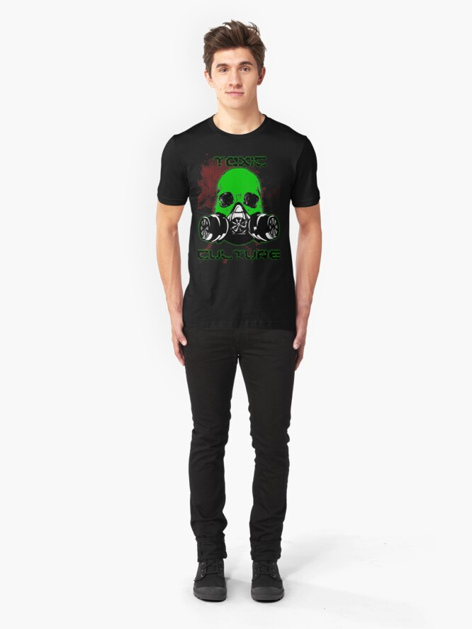 Alternate view of Toxic Culture Slim Fit T-Shirt