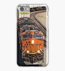 BNSF # 7367 at Fullerton iPhone Case/Skin