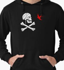 The Flag of Captain Jack Sparrow Lightweight Hoodie