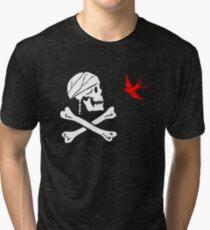 The Flag of Captain Jack Sparrow Tri-blend T-Shirt