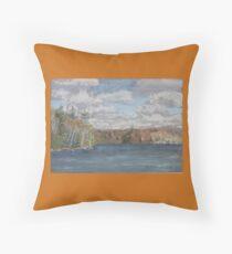 St Nora Lake Throw Pillow