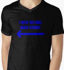 I Wish This Was David Tennant Men's V-Neck T-Shirt