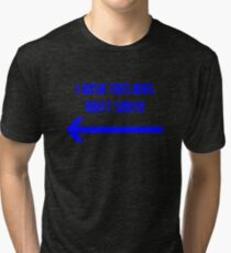 I Wish This Was Matt Smith Tri-blend T-Shirt