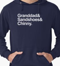 The 50th Anniversary Doctors Lightweight Hoodie