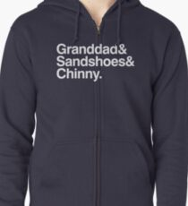 The 50th Anniversary Doctors Zipped Hoodie