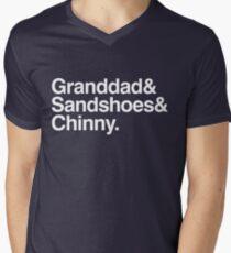The 50th Anniversary Doctors Men's V-Neck T-Shirt
