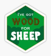 Wood For Sheep Sticker