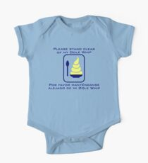 Stand Clear of My Dole Whip One Piece - Short Sleeve
