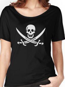 Flag of Calico Jack Rackham Women's Relaxed Fit T-Shirt