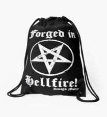 Forged in Hellfire! Drawstring Bag