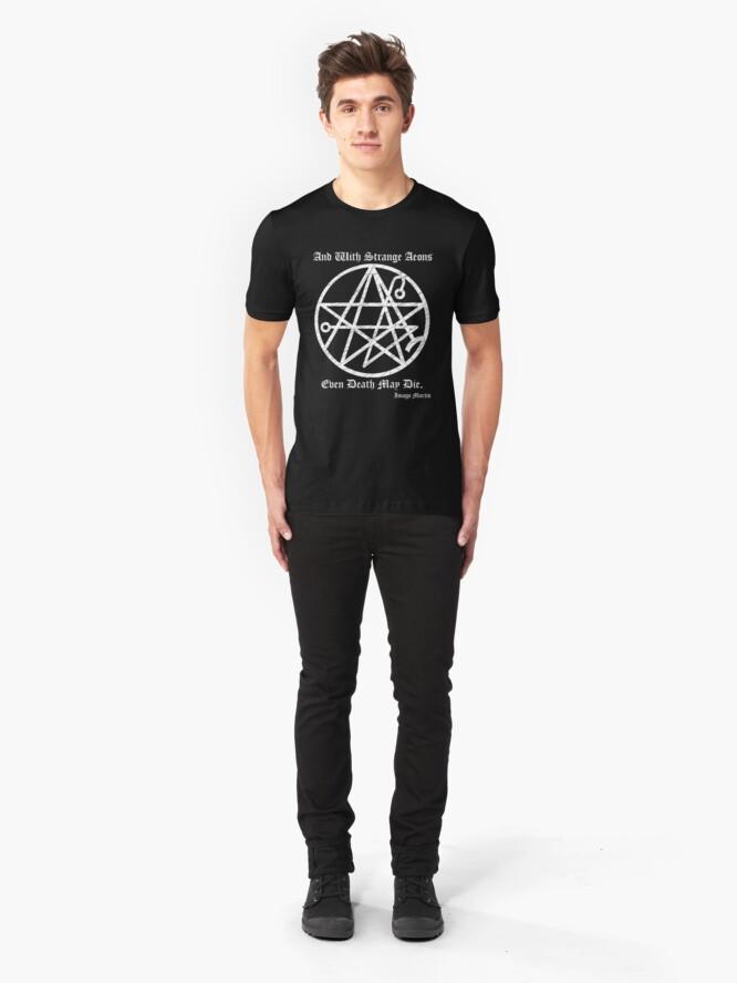 Alternate view of Necronomicon  Slim Fit T-Shirt