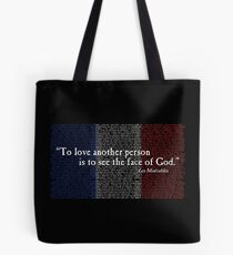 The Face of God Tote Bag