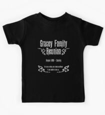 Gracey Family Reunion Kids Tee