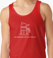 Exterminate or Treat!!! - Dark Shirt Tank Top