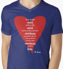 Love is Weird Men's V-Neck T-Shirt