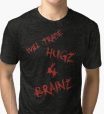 Hugs For Brains Tri-blend T-Shirt