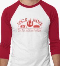 Uncle Iroh's Fine Tea Shop Men's Baseball ¾ T-Shirt