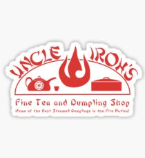 Uncle Iroh's Fine Tea Shop Sticker