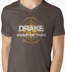 Drake Adventure Tours Men's V-Neck T-Shirt