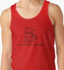 Exterminate or Treat!!! - Light Shirt Tank Top