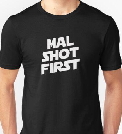 Mal Shot First T-Shirt