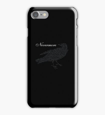 Quoth the Raven iPhone Case/Skin