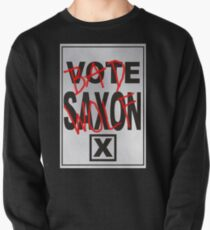 Bad Saxon Poster Pullover