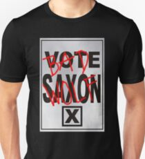Bad Saxon Poster T-Shirt