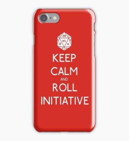 Keep Calm and Roll Initiative iPhone Case/Skin