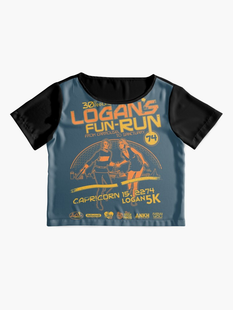 Alternate view of Logan's Fun-Run Chiffon Top