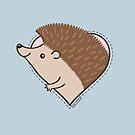 Hedgehog Heart by zoel