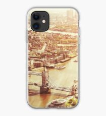 tower bridge aerial iPhone Case