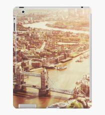 tower bridge aerial iPad Case/Skin