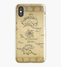 Azeroth map - old hand drawn iPhone Case/Skin