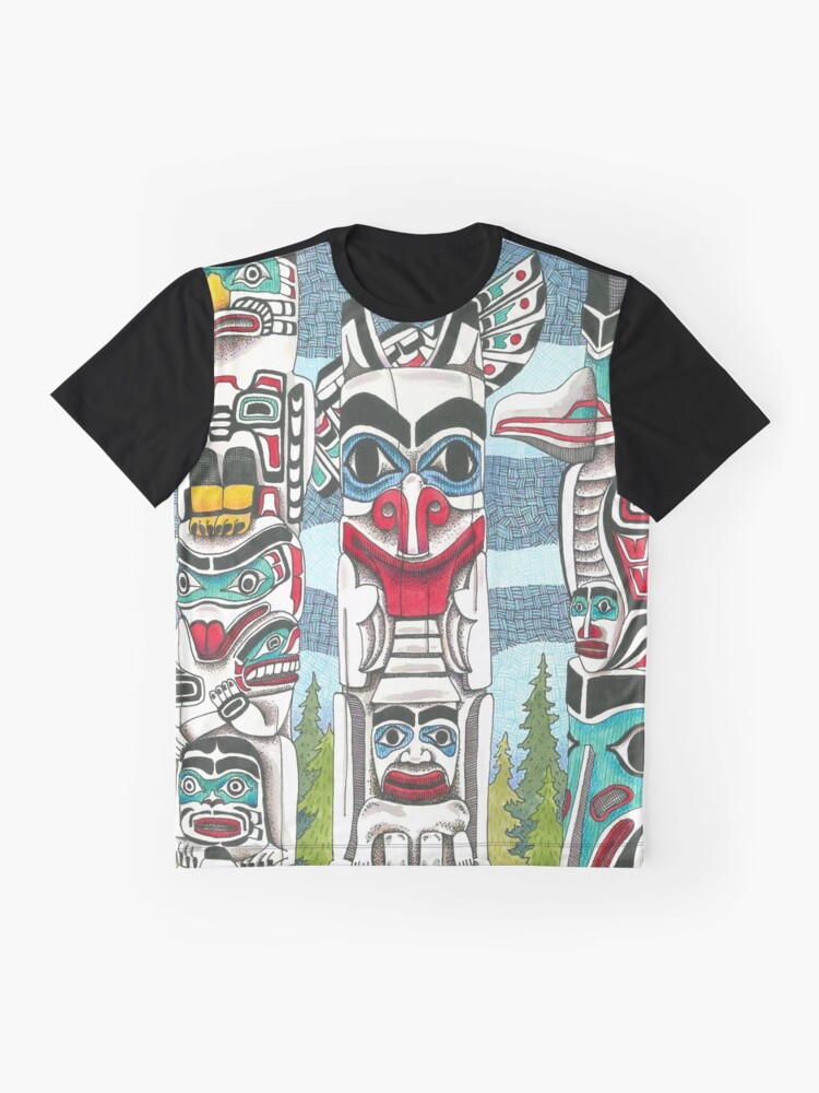 Alternate view of Totem Talk Graphic T-Shirt