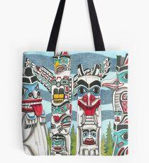 Totem Talk Tote Bag