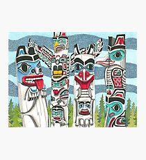 Totem Talk Photographic Print