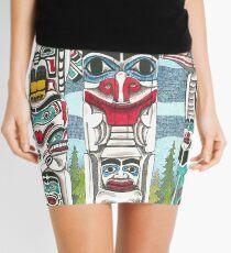 Totem Talk Mini Skirt